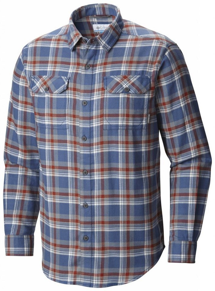 Columbia Hemd »Flare Gun Flannel Long Sleeve Shirt Men« in blau