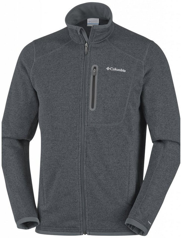 Columbia Outdoorjacke »Altitude Aspect Full Zip Men« in grau