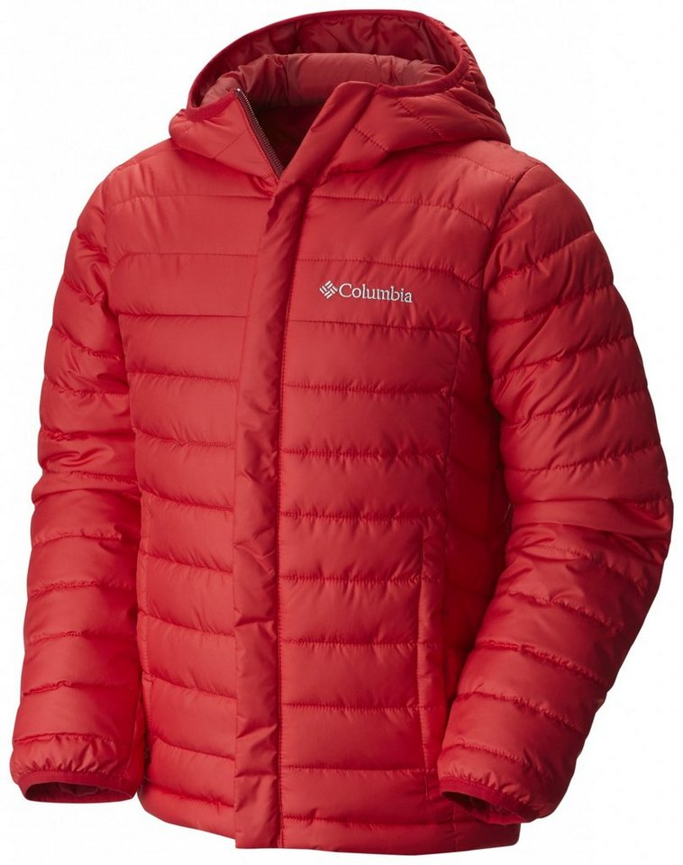 Columbia Outdoorjacke »Powder Lite Puffer Boys« in rot