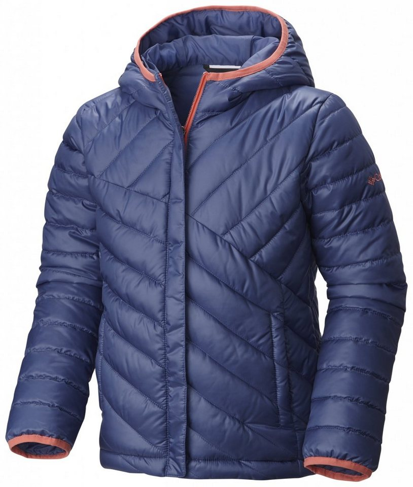 Columbia Outdoorjacke »Powder Lite Puffer Girls« in blau