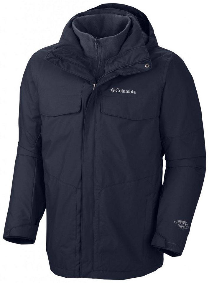Columbia Outdoorjacke »Bugaboo Interchange Jacket Men« in blau
