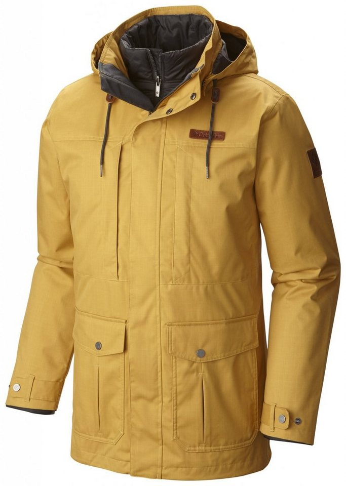 Columbia Outdoorjacke »Horizons Pine Interchange Jacket Men« in gelb