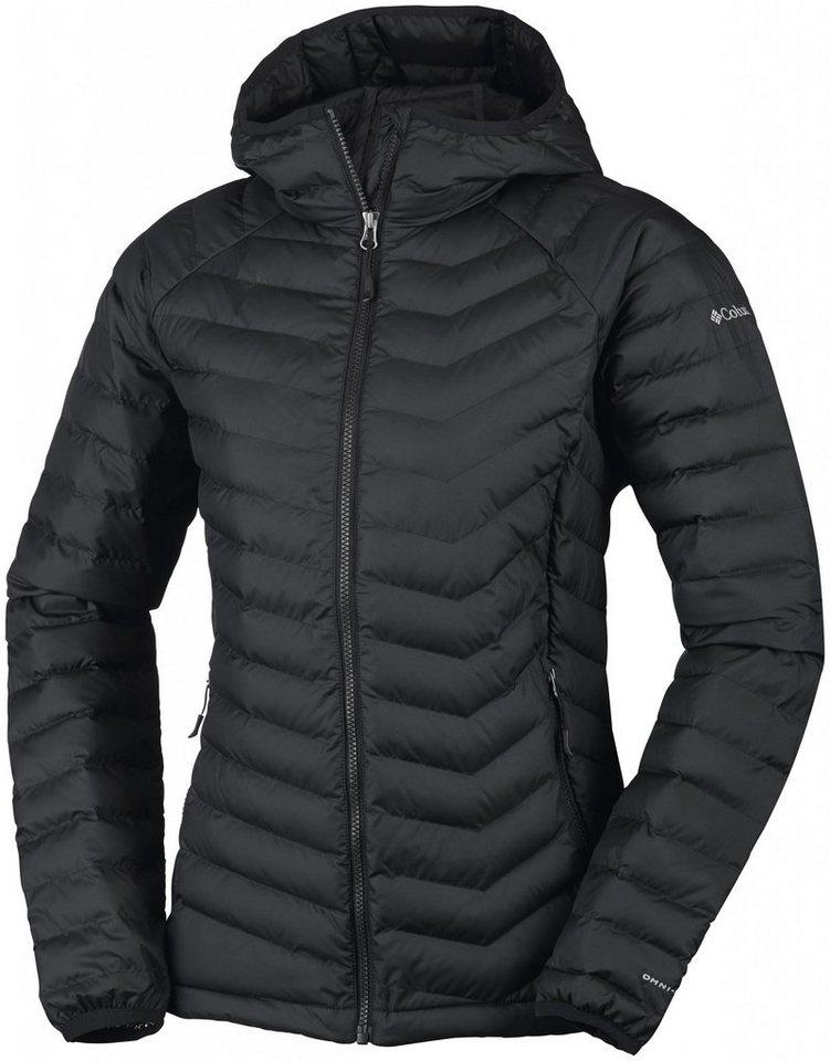 Columbia Outdoorjacke »Powder Lite Hooded Jacket Women« in schwarz