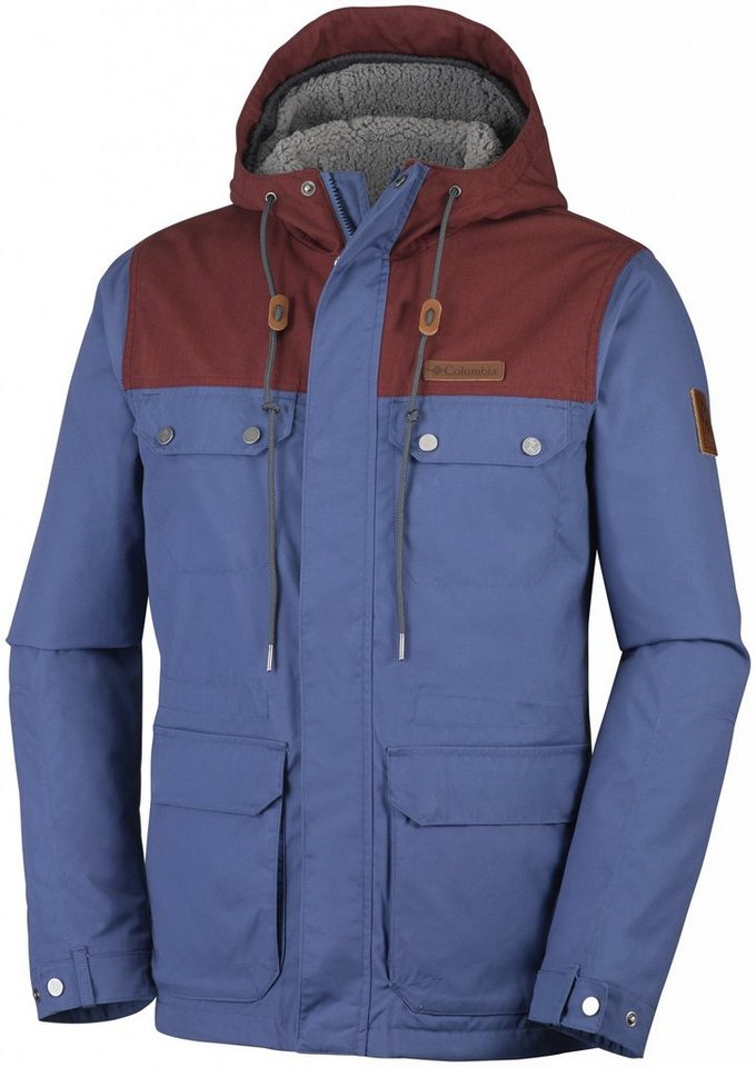 Columbia Outdoorjacke »Colburn Crest Jacket Men« in blau