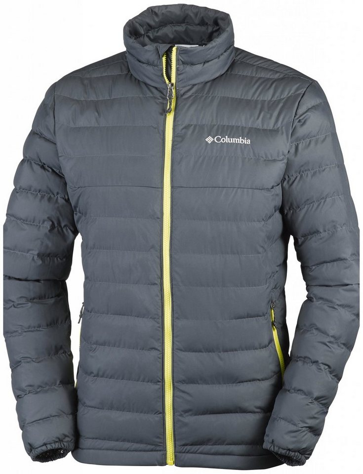 Columbia Outdoorjacke »Powder Lite Jacket Men« in grau