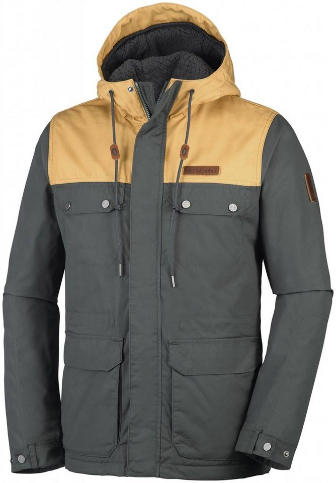 Columbia Outdoorjacke »Colburn Crest Jacket Men« in grau