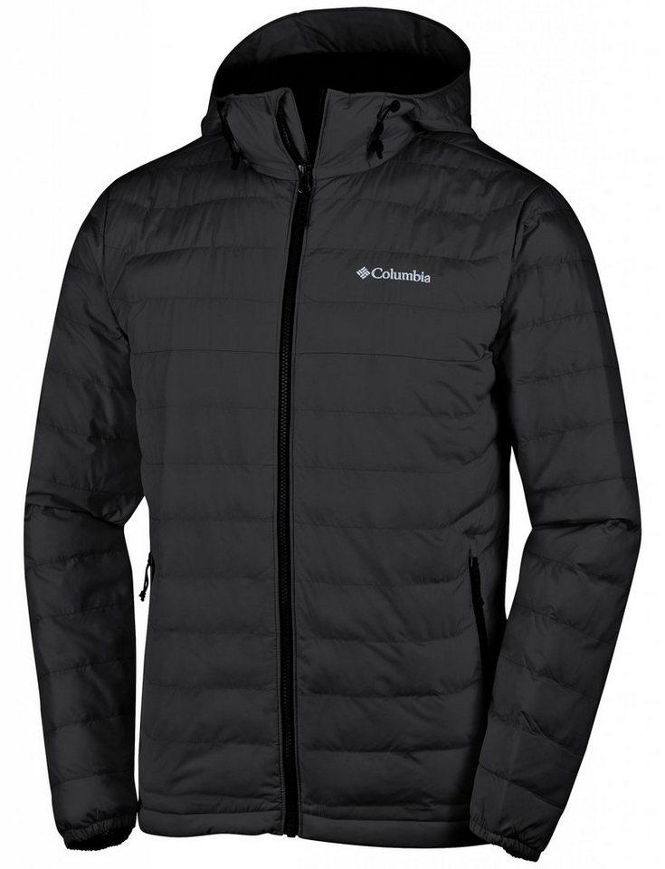 Columbia Outdoorjacke »Powder Lite Hooded Jacket Men« in schwarz