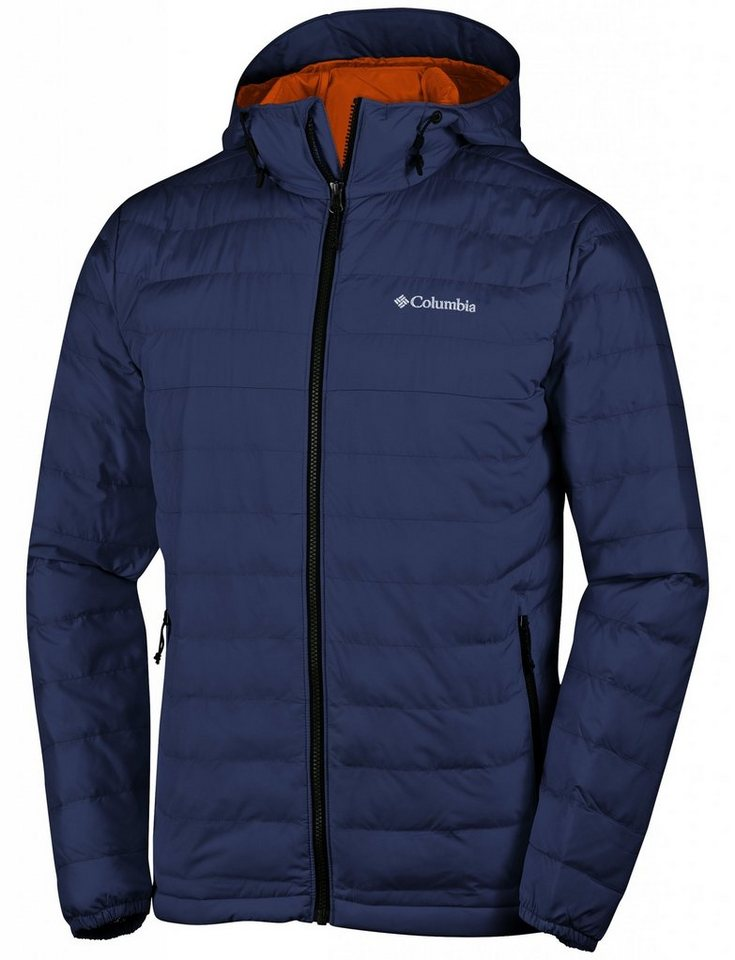 Columbia Outdoorjacke »Powder Lite Hooded Jacket Men« in blau