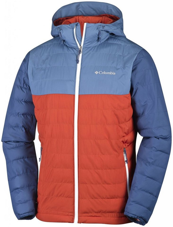 Columbia Outdoorjacke »Powder Lite Hooded Jacket Men« in rot