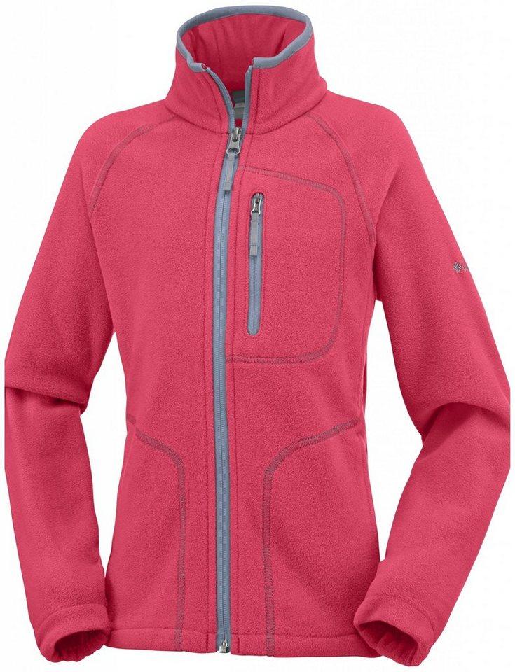 Columbia Pullover »Fast Trek II Full Zip Girls« in pink