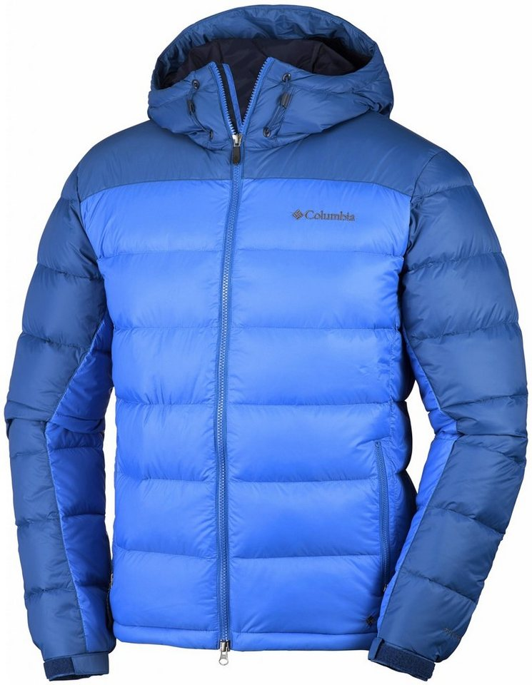 Columbia Outdoorjacke »Quantum Voyage Hooded Jacket Men« in blau