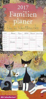 Kalender »Rosina Wachtmeister Familienplaner 2017«