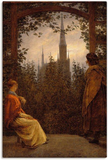 Artland Wandbild »Gartenlaube. 1818.«, Garten (1 Stück) günstig online kaufen