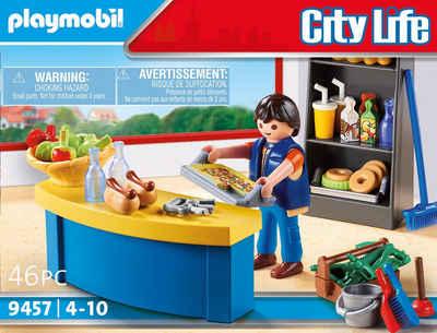Playmobil® Konstruktions-Spielset »Hausmeister mit Kiosk (9457), City Life«, (46 St), Made in Europe