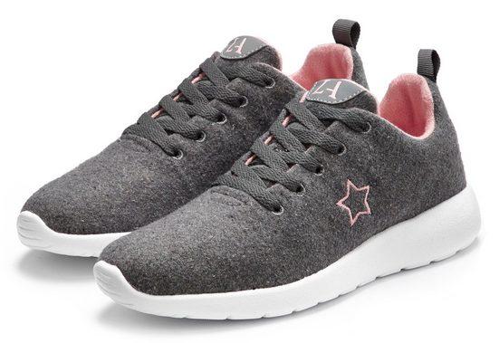LASCANA Sneaker aus kuscheligem Woll-Mix