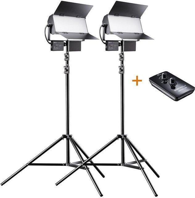 Blitzgeräte - walimex »pro LED Sirius 160 Bi Color 65W 2er SET« Blitzgerät  - Onlineshop OTTO