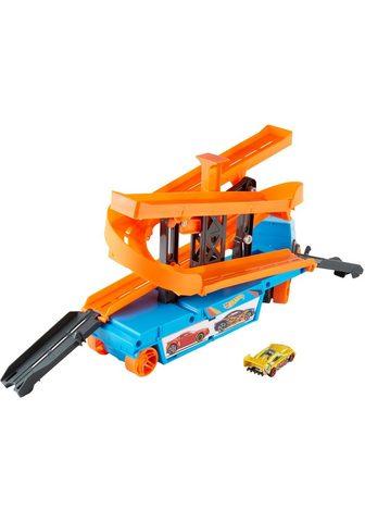 Hot Wheels Spielzeug-Transporter »Mega Action Tra...
