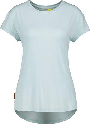 Alife & Kickin T-Shirt »MimmyAK« sommerliches Shirt im Basic-Look in schönen Uni-Farben