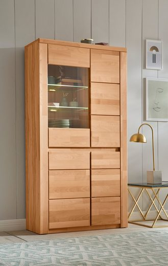 Premium collection by Home affaire Vitrine »Burani« grifflose Optik