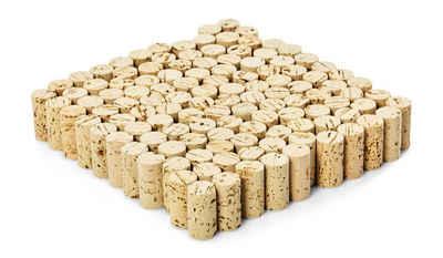 søstre & brødre Kork »Korken Bastelkorken Weinkorken Flaschenkorken, Made IN EU, Ideal zum dekorieren, basteln«, Naturmaterial