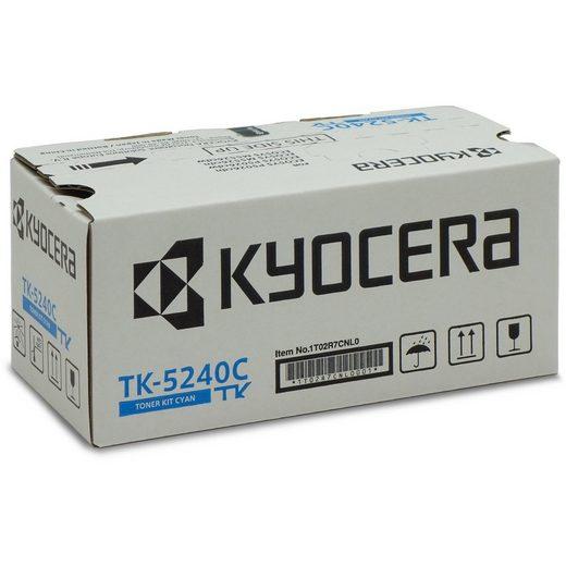 KYOCERA Tonerpatrone »Toner cyan TK-5240C«