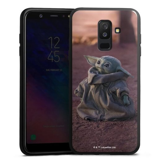 DeinDesign Handyhülle »Star Wars The Child looking up« Samsung Galaxy A6 Plus Duos (2018), Hülle Star Wars The Child Baby Yoda