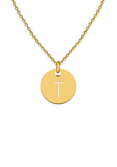 GOOD.designs Halsband »Buchstabenkette T«