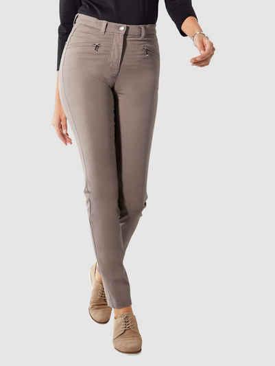 Paola Skinny-fit-Jeans mit weitenverstellbarem Bund