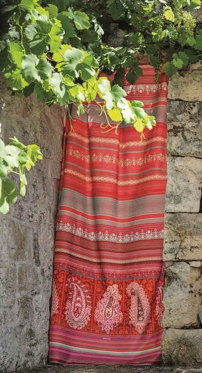 Bettwäsche »Mako-Satin Bettwäsche MOCENIGO R1«, Bassetti, Ornamente und Paisley Muster in Rot-und Naturtönen