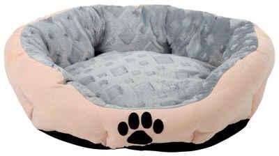 SILVIO design Tierbett »Snow S«, BxLxH: 38x45x18 cm, sandfarben
