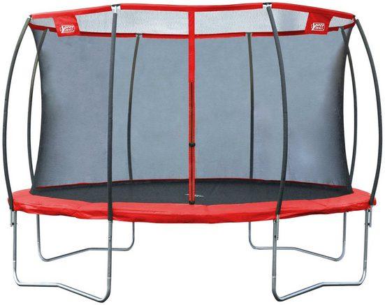 Gartentrampolin »57141 Superstar Red«, Ø 366 cm, mit Netz
