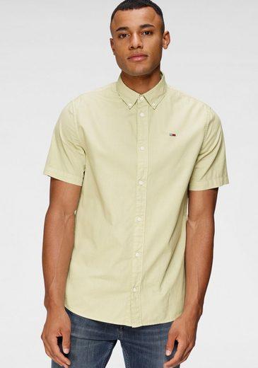 Tommy Jeans Kurzarmhemd »TJM LIGHTWEIGHT TWILL SHIRT«