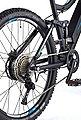 Telefunken E-Bike »Aufsteiger M930«, 10 Gang Shimano Deore Schaltwerk, Kettenschaltung, Heckmotor 250 W, Bild 5