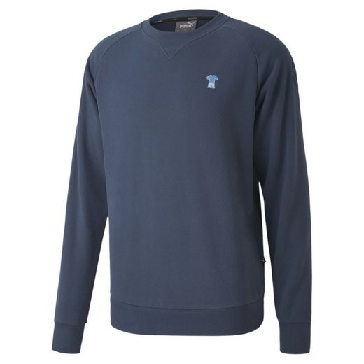 PUMA Sweater »Man City ftblFEAT Game Herren Sweatshirt«