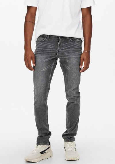 ONLY & SONS Slim-fit-Jeans »LOOM LIFE SLIM 4WAY«