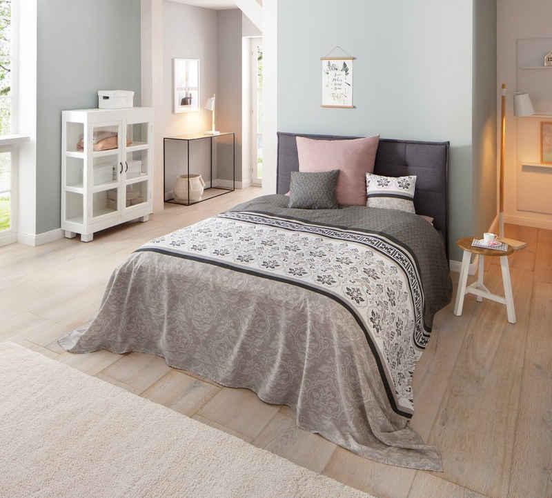 Tagesdecke »Cremona«, Home affaire, auch als Tischdecke und Sofaüberwurf einsetzbar