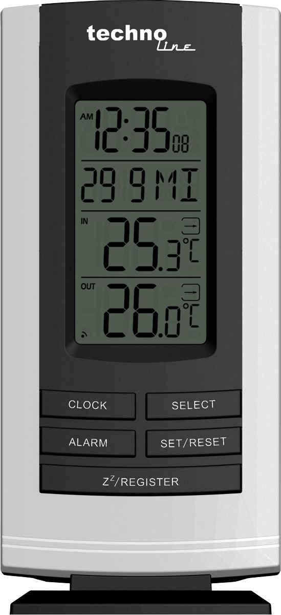 technoline »WS 9180« Wetterstation (inklusive Außensender, mit Temperaturtrendanzeige)