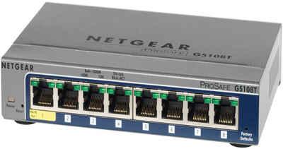 Netgear Switch »GS108T 8-Port GB Smart Desktop« Sale Angebote Tettau