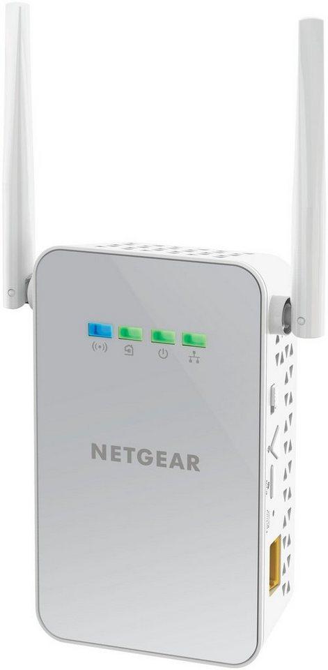 Netgear Powerline Adapter »POWERLINE WLAN 1000 SET«