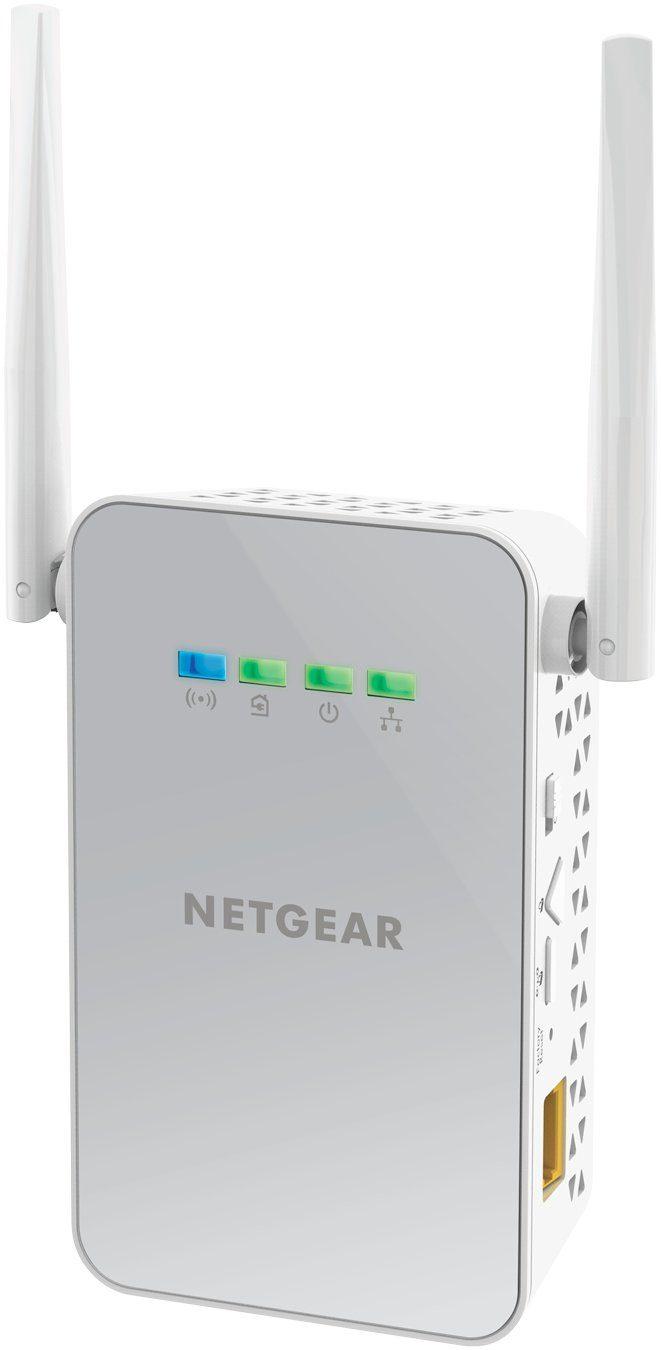 Netgear Powerline Adapter »PLW1000 POWERLINE WLAN 1000 SET«