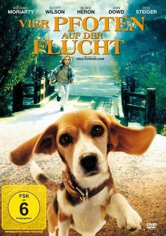 DVD »Vier Pfoten auf der Flucht«