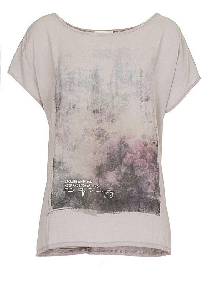 Cartoon Shirt in Lilac Marble - Bunt