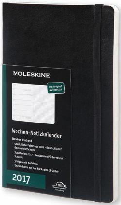 Broschiertes Buch »Moleskine Wochennotizkalender 2017 Deutsch...«