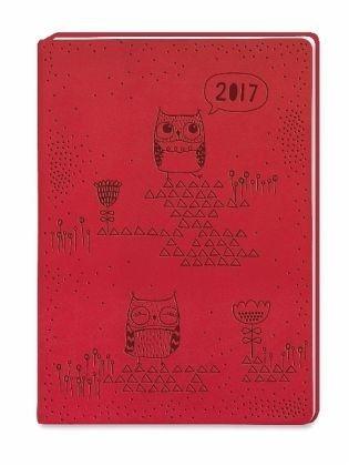 Broschiertes Buch »Timer Rot 2017«