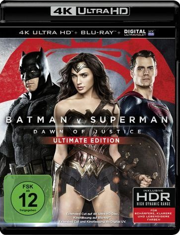 Blu-ray »Batman v Superman: Dawn of Justice (4K Ultra...«