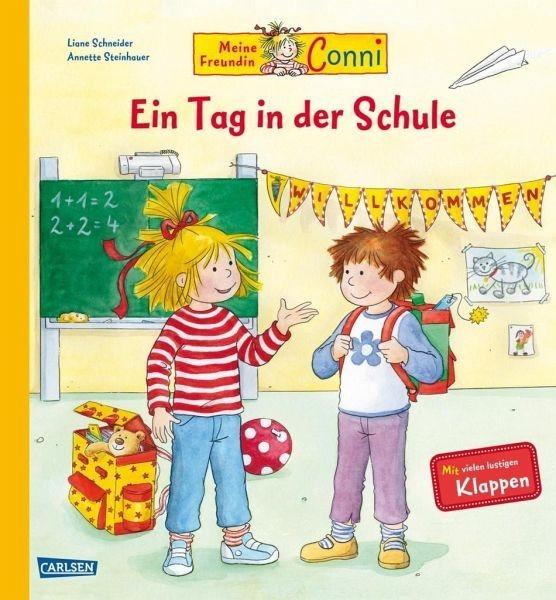 Buch mit Papp-Einband »Conni-Bilderbücher: Meine Freundin Conni - Ein...«