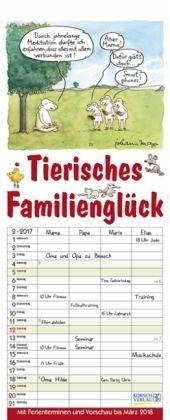 Kalender »Tierisches Familienglück 2017«