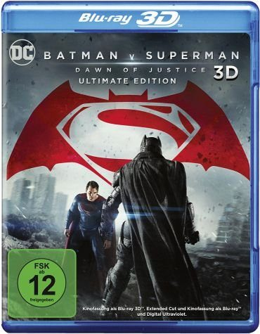 Blu-ray »Batman v Superman: Dawn of Justice Blu-ray 3D...«