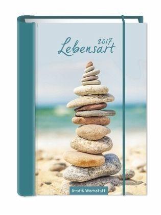 Gebundenes Buch »Lebensart 2017. Terminplaner A5«