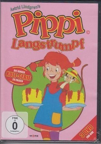 DVD »Pippi Langstrumpf-Zeichentrick (Special Edition)«